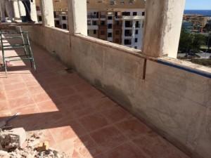Revistimiento terraza